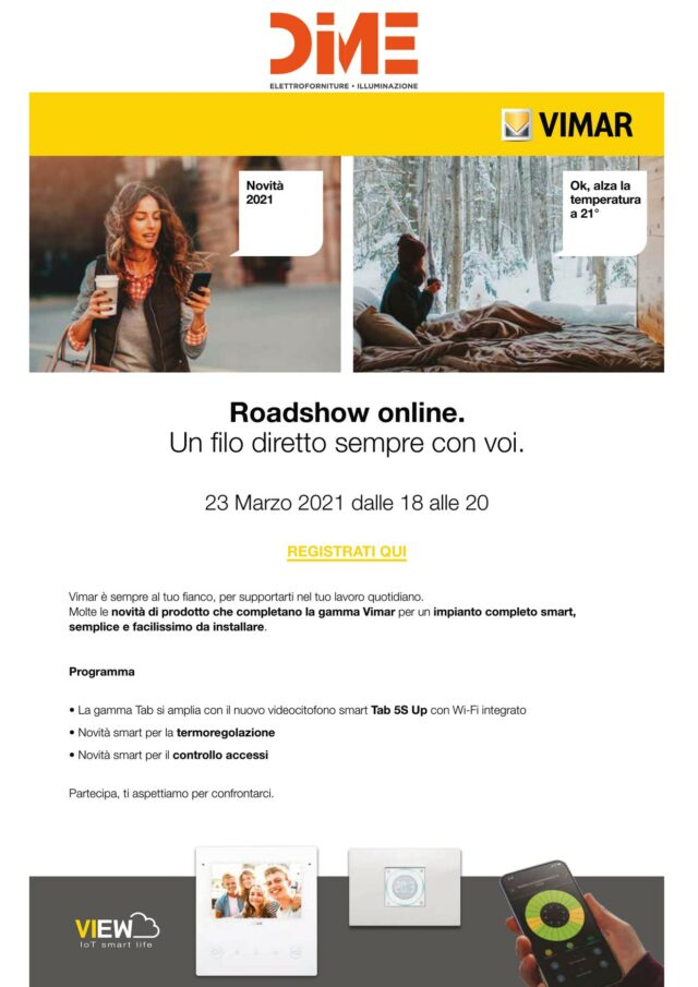 Vimar Roadshow